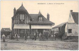 59-BRUNEMONT-LA MAISON DU GARDE DE PECHE-N°R2045-H/0263 - Francia