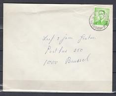 Brief Van Noorderwijk-Morkhoven Naar Brussel - 1953-1972 Lunettes