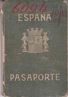 ESPAÑA SPAIN L'ESPAGNE 1938 FEMENINO FEMALE PASAPORTE PASSPORT REISEPASS PASSAPORTO.-TBE-BLEUP - Historische Dokumente