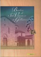"""2007 Italia, Folder  """" Basilica Di San Vincenzo In Galliano """" Al Prezzo Di Copertina - 6. 1946-.. Republik"""