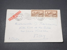 TUNISIE - Enveloppe De Tunis Pour Vichy En 1940 - L 16739 - Tunisia (1888-1955)
