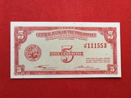 Philippine - 5 Five Centavos 1949 Pick 126  - Neuf / Unc ! (CLVO18) - Philippines