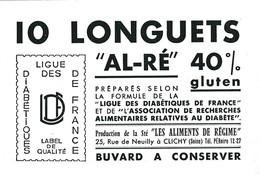 10 LONGUETS AL RE  / LIGUE DES DIABETIQUES / RARE - Chemist's