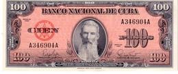 Cuba P.93 100 Pesos 1959  Unc - Cuba