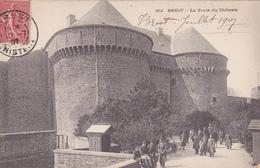Brest La Porte Du Château N° 382 - Brest
