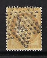 """FR YT 59 """" Ceres 15c. Bistre """" 1871 étoile 7 Rue Des Vieilles-Haudriettes - 1871-1875 Cérès"""