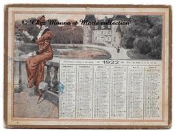 CALENDRIER 1922 17 X 12.5 CM - Petit Format : 1921-40