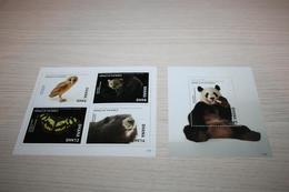 Fauna Birds Butterflies  2017 Ghana National Geographic - Stamps