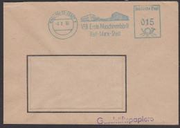 Karl-Marx-Stadt AFS VEB Erste Machinenfabrik Geschäftspapiere 1955 Abb. Firmengebäude - Oficial