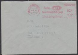 Hohenstein Ernstthal AFS 1947 Socken Herrenstümpfe Unterzeuge ZET F. Oscar Zwingenberger - Zone Soviétique