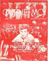 """PARTITION Eddy MITCHELL   Les CHAUSSETTES NOIRES  """" OUBLIE MOI  """"   Année 1962 - Musique & Instruments"""