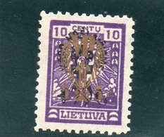 LITUANIE 1926 * - Lituanie