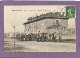 13 SALIN-DE-GIRAUD / Les Bureaux / Sortie Du Personnel / Animée. - France