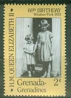 Amériques - Grenada Grenadines - 1986 60EME ANNIVERSAIRE DE LA REINE ELIZABETH Neuf** - St.Vincent & Grenadines