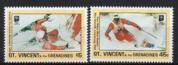 ST. VINCENT E GRENADINE 1993 - OLIMPIADI INVERNALI - SERIE COMPLETA -  MNH ** - St.Vincent E Grenadine