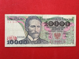 Poland - 10 000 Zlotych 1988 Pick 151  - Tb+ / F+ ! (CLVO24) - Polen