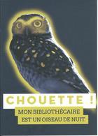 Carte Pub BORDEAUX (33), Nuit Des Bibliothèques 2017 - Chouette- - Bordeaux