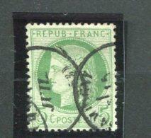 6934    FRANCE N°53a°  5c  Vert  Sur Blanc    Cérès    1872            B/TB - 1871-1875 Ceres