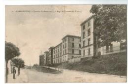 20596   CPA SARREBOURG : Quartier Kellermann ( 17ème Régt De Chasseurs à Cheval  ) 1921 , (ETAT) - Sarrebourg