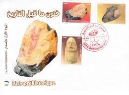 Enveloppe Premier Jour- Arts Préhistoriques-01/09/2014- TIPAZA - Algeria (1962-...)