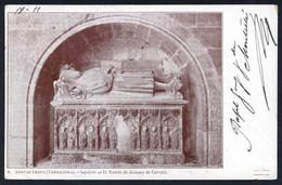 *Rafael Gay Y De Montellà* Jurista Y Escritor. Tarjeta Postal Con Firma Autógrafa. Año 1902. - Autógrafos