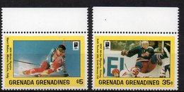 GRENADA E GRENADINE -XXVI OLIMPIADI INVERNALI - SERIE COMPLETA -  MNH ** - Grenada (1974-...)