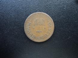 HONGRIE : 2 FILLER  1927 BP   KM 506    TTB - Hungary