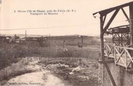 87 MINES  DOR DE CHENI PRES SAINT YRIEIX TRANSPORT DU MINERAI / 5 EDITION MEDARD - Other Municipalities