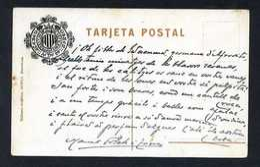 *Manuel Folch I Torres* Escritor Y Abogado.Tarjeta Postal Con Texto Y Firma Autógrafos. - Autógrafos