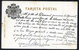 Barcelona. Firma *Manuel Folch I Torres* Escritor Y Abogado.Texto Y Firma Autógrafos. - Autógrafos