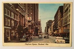 PLAYHOUSE SQUARE , CLEVELAND, OHIO VIAGGIATA FP - Cleveland