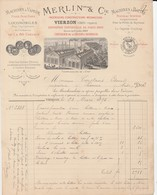Vierzon (Cher) - Merlin & Cie - 1893 - Machines Agicoles - 1800 – 1899