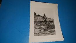Photo  11X8 Homme A La Mer - Personnes Anonymes