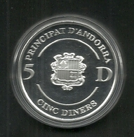 ANDORRA MONEDA EN PLATA 1748-1998 250e ANIVERSARI DEL MANUAL DIGEST (M.C.05.18) - Andorre