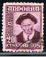 AN 113 // Y&T 44A // 1948-53 - Spanish Andorra