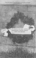 CP COURONNE LANCEE DU HAUT DES AIRS PAR L'ADVERSAIRE DE PEGOUD SEPTEMBRE 1915 - Guerre 1914-18