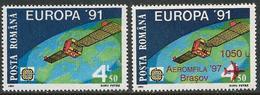 Romania 1991 1997 Scott 3650 4185 MNH Europa And Overprint Aeromfila - Unused Stamps
