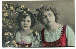CPA - Carte Postale - Belgique - Fantaisie - Femmes - Fleurs - 1908 (CP2980) - Women