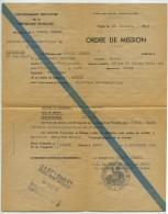 Ordre De Mission 1948 Gouvernement Provisoire . Reportage Photo à Rennes . Service Cinématographique De L'Armée . - Documents
