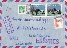 Brief In Die Schweiz (br3889) - 1944-.... Republik