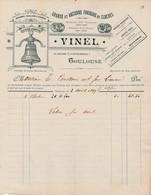 Toulouse - Vinel - 1899 - Ancienne Fonderie De Cloches - 1800 – 1899