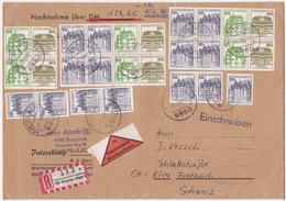 Brief In Die Schweiz, Burgen Und Schlösser (G007) - [7] Federal Republic