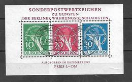 Berlin 1949   Cat  Yt   Bloc N° 1 Oblitération  07 05 1950 - [5] Berlin