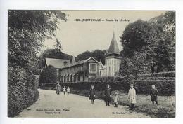 CPA Motteville Animée Yvetot Yerville Pavilly Route De Limésy - Yerville