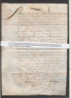 1662 Vente Par Notaire Gauveis,Lenormand De Vimoutiers,terre En Labours à Forget De Saint Germain De Montgommery 14 - Manuscrits