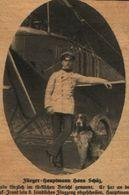 Fliegerhauptmann Hans Schuez /Druck,entnommen Aus Zeitschrift /1917 - Livres, BD, Revues