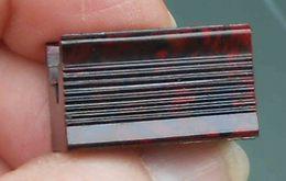 Block In Bakelite, Brown Variegated, 2 Knurled Sides. Temperamatite, Pencil-Sharpener, Taille Crayon, Anspitzer. - Altre Collezioni