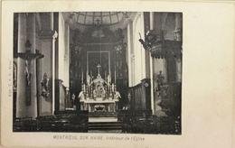 Montroeul Sur Haine - Intérieur De L'Eglise - Hensies
