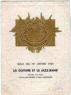 VP12.003 - MILITARIA - PARIS - Cercle National Des Armées De Terre De Mer Et De L' Air - Gala De 1935 - Documents