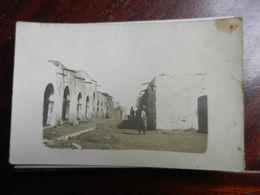 16562) LIBIA TRIPOLI MERG UNA VIA FOTOCARTOLINA PRIVATA FATTA DAI CARABINIERI COLONIE ITALIANE - Italia